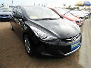 2013 Hyundai Elantra MD2 Active Black 6 Speed Sports Automatic Sedan Minchinbury Blacktown Area Preview