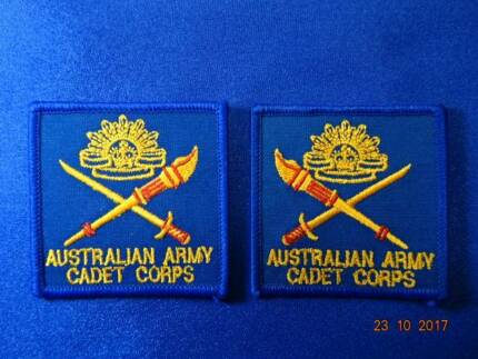 MILITARIA – AUST ARMY CADET CORPS SHOULDER PATCHES [1993 to 2001]
