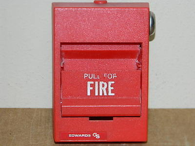 Est Edwards 276b-1120 Fire Alarm Pull Station Siga-276