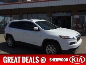 2016 Jeep Cherokee 4WD NORTH EDITION Accident Free,  Leather,  A