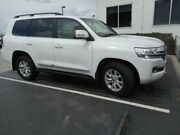 2017 Toyota Landcruiser VDJ200R MY16 Sahara (4x4) White 6 Speed Automatic Wagon Singleton Heights Singleton Area Preview