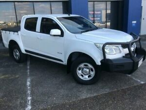 2013 Holden Colorado RG LX (4x4) White 5 Speed Manual Crew Cab Pickup Eagle Farm Brisbane North East Preview