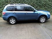 2010 Subaru Forester S3 MY10 X AWD Blue 4 Speed Sports Automatic Wagon Collingwood Yarra Area Preview