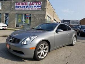 2006 INFINITI G35 Coupe Coupe,Sport Package,Automatic!