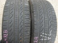 235 45 18 Kumho Ecsta 4xII, XL x2 A Pair, 6.5mm(152-156 Rayne Road,CM7 2QS)