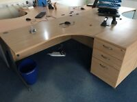Beach effect office desks available. Ranging between £30 & £50
