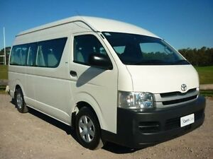 2012 Toyota Hiace TRH223R MY11 Commuter White 4 Speed Automatic 4D Bus Erina Gosford Area Preview