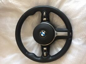 BMW 3/5 SERIES M SPORT STEERING WHEEL