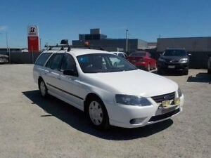 2010 Ford Falcon BF Mkiii XT (LPG) White 4 Speed Sports Automatic Wagon