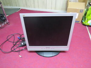 "17"" Viewsonic LCD Monitor with built-in speakers"