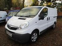 Vauxhall Vivaro 2.0CDTi ,115ps 80,000 MILES 2012 reg NO VAT EcoFLEX SWB AIR CON