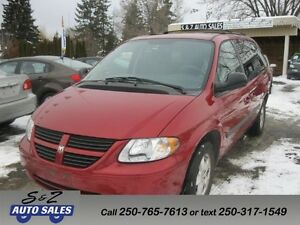 2007 Dodge Grand Caravan Stow&Go LOW KM! DVD!
