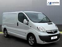2013 Vauxhall Vivaro 2900 CDTI SPORTIVE LWB Diesel white Manual