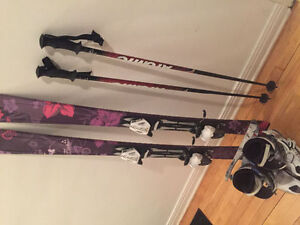 SKIS,BOOTS AND POLES FOR SALE(nego)