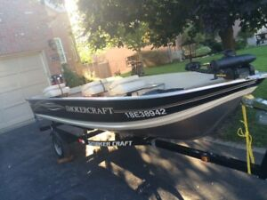 Smoker Craft 140 PRO MAG 14.5ft Fishing Boat and Trailer