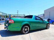 2010 Holden Ute VE II SV6 Green 6 Speed Manual Utility Woodridge Logan Area Preview