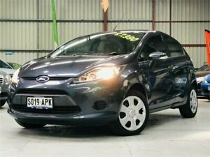 2012 Ford Fiesta WT CL PwrShift Grey 6 Speed Sports Automatic Dual Clutch Hatchback Mawson Lakes Salisbury Area Preview