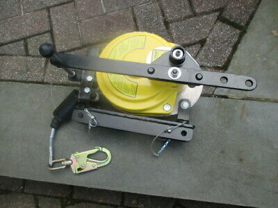 Gemtor Mrw-50 Man Rated Winch 50 Ft. 310 Lb. Yellow Confined Space Rescue