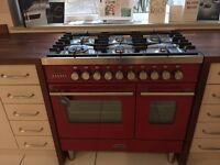 Britannia Delphine 90CM Twin Oven with Gas Hob
