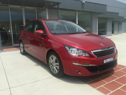 2016 Peugeot 308 T9 Active Red 6 Speed Automatic Hatchback Fyshwick South Canberra Preview