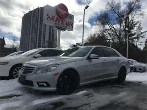 2010 Mercedes-Benz E-Class E350 4 MATIC NAVI/BACK UP SEDAN