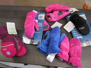 "Mittens, ""Head"" Insulated, XXS (ages 1-2) & XS (3-4)BNWT"