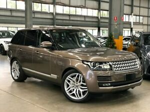 2012 Land Rover Range Rover L405 TDV6 Vogue Wagon 5dr Spts Auto 8sp 4x4 3.0DTT [MY13] Bronze Port Melbourne Port Phillip Preview