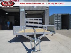 12' UTILITY TRAILER - BEST PRICING ON AN OPEN ALL ALUMINUM!!