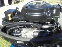 For sale Suzuki DF 9.9 horse power 4 stroke, outboard, long shaft Boat engine.
