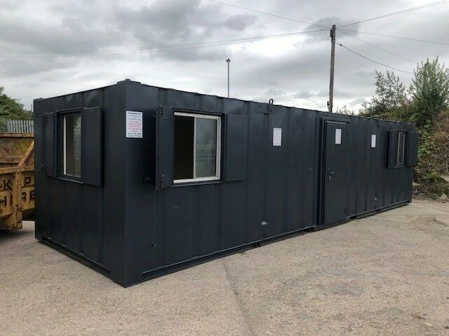 Greater Manchester 32ft x 10ft Anti Vandal Office//Kitchen//Toilet Container