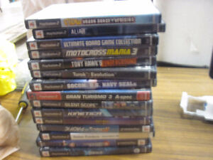 15 ps2 various games first $20 bucks takes them look!!!!!!!!