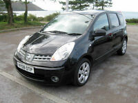 2008 (08) Nissan Note Acenta R, 1386cc Petrol, 5 Speed Manual