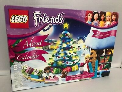 "Lego - Friends Advent Calendar (3316) 212 PCS. 24 Gifts, ""2012"" NEW/Other"