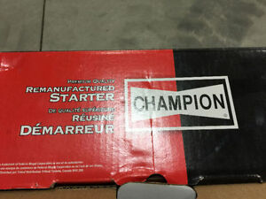 Brand new in the box Champion car starter part for most cars!