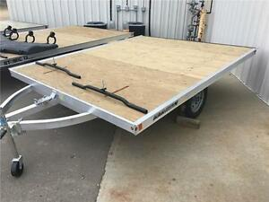 2 Place Aluminum Snowmobile Trailers - BLOWOUT ONLY $1999