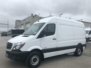 "2014 Mercedes Sprinter 2500 - Cargo - 144""WB - High Roof - 4 Cyl"