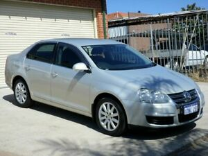 2010 Volkswagen Jetta 1KM MY10 77TDI DSG Silver 7 Speed Sports Automatic Dual Clutch Sedan Mount Lawley Stirling Area Preview