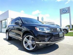 2017 Volkswagen Touareg Execline w/360 CAMERA & LANE ASSIST