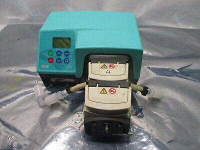 Watson Marlow 323DU Peristaltic Pump w/ Two 314X Pumpheads Drive 400 RPM, RS1140