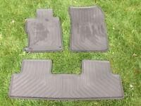 2012+ Honda Civic OEM Rubber Floor Mats