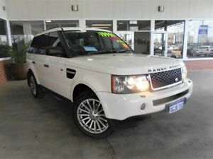 2007 Land Rover Range Rover MY07 Sport 2.7 TDV6 White 6 Speed Auto Sequential Wagon St James Victoria Park Area Preview