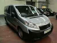 62 PEUGEOT EXPERT WHEELCHAIR ADAPTED 50 + ADAPTED VEHICLES IN STOCK