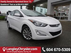 2016 Hyundai Elantra GL *ACCIDENT FREE * LOCAL BC CAR *