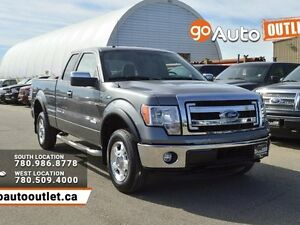 2014 Ford F-150 XLT 4x4 SuperCab 6.5 ft. box 145 in. WB Edmonton Edmonton Area image 1