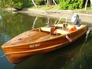 16 FT Cedar Strip Boat