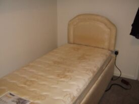 Adjustable bed, with Myers mattress, good condition and in perfect working order.