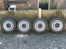 VW TRANSPORTER 16inch (ORIGINAL) WHEELS And TYRE