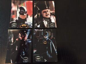 1992 Topps Stadium Club Batman Returns movie card set