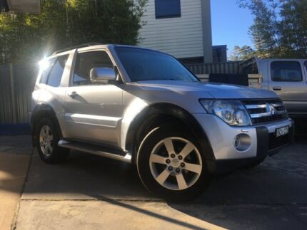2007 Mitsubishi Pajero NS X Silver 5 Speed Auto Sports Mode Wagon Sylvania Sutherland Area Preview