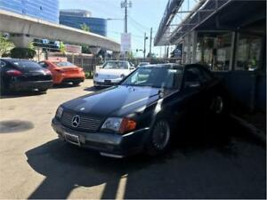 1991 Mercedes-Benz SL500 Convertible (PARTS ONLY)
